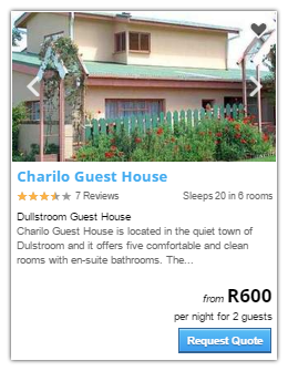 Dullstroom Accommodation2